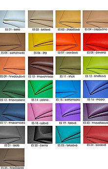 Textil - Látka ekokoža metráž - 6643316_