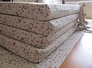 Úžitkový textil - rozkvitnutá záhradná pohoda ❀ - 6643481_