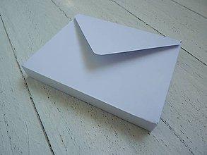 Krabičky - krabička/3D obálka na pohľadnicu - 6645341_