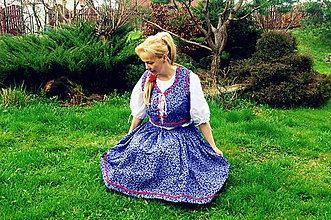 Šaty - Vestička so sukňou - 6645374_