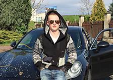 Oblečenie - leloš mikinový čierno-biely - 6649925_