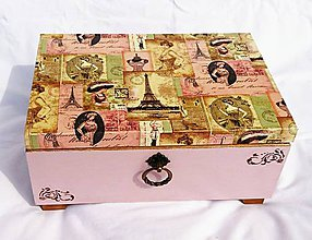Krabičky - Šperkovnica Veľká
