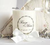 Darčeky pre svadobčanov - Darček pre hostí #15 - 6648657_