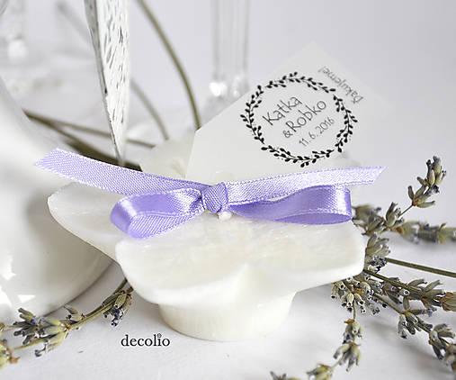 Darček pre hostí - plávajúca sviečka P31