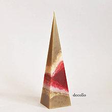 Svietidlá a sviečky - Chocolate Cherry - ihlan - 6648963_