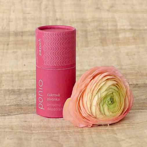 Cukrová pivonka - prírodný deodorant