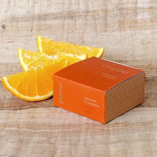 Pomaranč & eukalyptus - masážna kocka