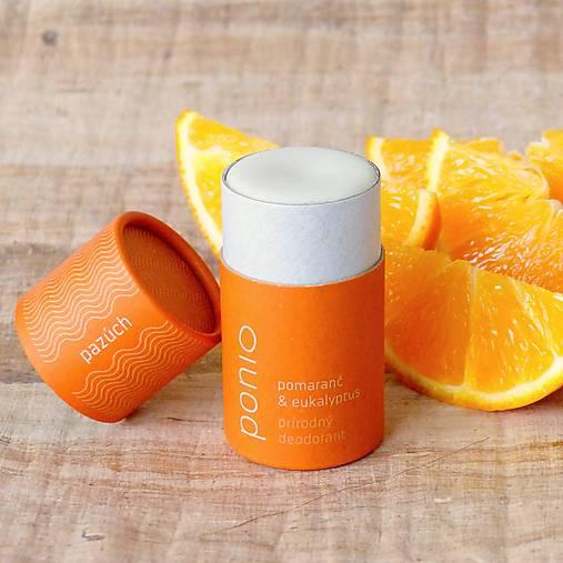Pomaranč & eukalyptus - prírodný deodorant