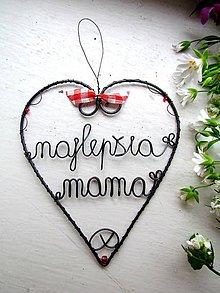 Dekorácie - najlepšia mama - 6646462_