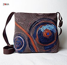 Kabelky - ELLIE SMALL Abstract No.2 crossbody kabelka malá - 6650196_
