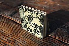 Papiernictvo - Notes střední Chlapec na dubu - 6651866_