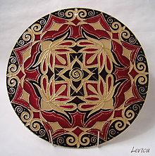 Dekorácie - Mandala Lotosový Kvet - 6652226_