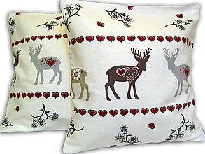 Úžitkový textil - Vankúš Jelenček - 6651735_
