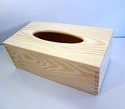 Polotovary - M1-  Krabička na servítky - 6653453_