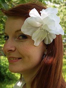 Ozdoby do vlasov - Sponka do vlasov 1 - kvet - 6651037_