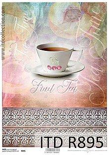 Papier - ryžový papier šáločka - 6651050_