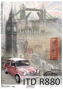 Papier - mesto Londýn - 6651392_