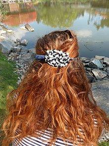 Ozdoby do vlasov - Spona - korálková - 6655292_