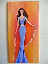 Obraz, Žena Danila, 20 x 40 cm
