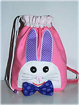 Detské tašky - ruksak,batoh zajko - 6655562_
