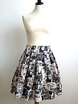 Sukne - letná sukňa Paris - 6656063_