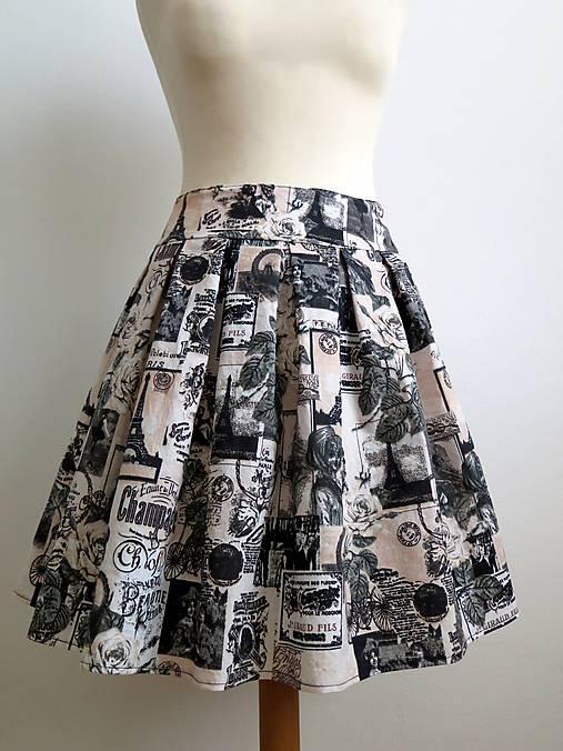letná sukňa Paris