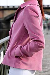 Kabáty - Krátky jarný kabát - ružový - 6653600_