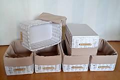 Košíky - Set košíkov MIA/ks - 6653750_