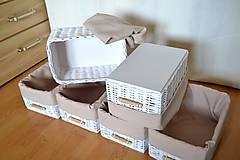 Košíky - Set košíkov MIA/ks - 6653751_