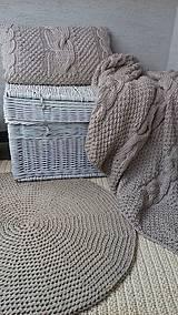 Úžitkový textil - Deka, vankúš, koberec - 6655962_