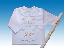 Detské oblečenie - kosielka na krst+sviecka pre Danku - 6658180_