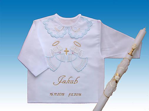 kosielka na krst+sviecka pre Danku