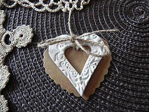 Darčeky pre svadobčanov - Svadobné srdiečko - len pre teba:-) - 6656885_