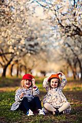 Čiapky - detská dievčenská šiltovka kolekcia Jolie - 6656783_