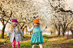 Čiapky - detská dievčenská šiltovka kolekcia Jolie - 6656785_