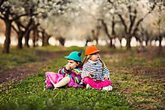 Čiapky - detská dievčenská šiltovka kolekcia Jolie - 6656791_