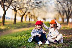 Čiapky - detská dievčenská šiltovka kolekcia Jolie - 6656822_