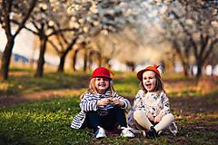 Čiapky - detská dievčenská šiltovka kolekcia Jolie - 6656823_