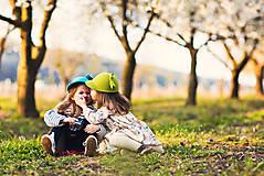 Čiapky - detská dievčenská šiltovka kolekcia Jolie - 6656827_