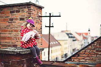 Čiapky - detská dievčenská šiltovka kolekcia Jolie - 6656697_