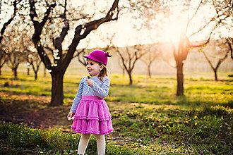 Čiapky - detská dievčenská šiltovka kolekcia Jolie - 6656716_