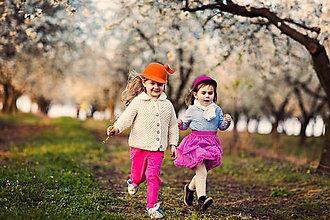 Čiapky - detská dievčenská šiltovka kolekcia Jolie - 6656789_