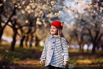 Čiapky - detská dievčenská šiltovka kolekcia Jolie - 6656820_