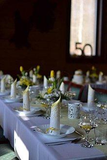 Dekorácie - Kvetinová výzdoba- tulipánová - 6656683_