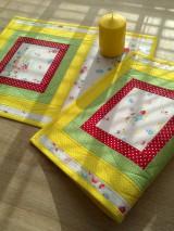 Úžitkový textil - Prestieranie farebné.. - 6658360_