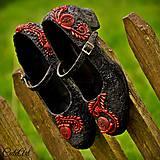 Folkové - unikátne dámske topánky