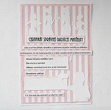 Papiernictvo - Certifikát k úlohám na rozlúčku so slobodou - 6658457_