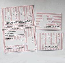 Papiernictvo - Rozlúčka so slobodou - úlohy + certifikát/momentálne dodanie AUGUST - 6658474_