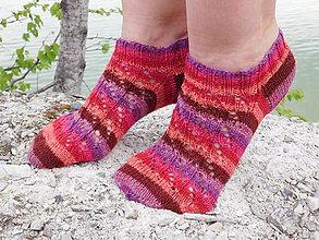 Obuv - členkové Hot - socks s pravej ponožkovej (v.37-38) - 6658656_
