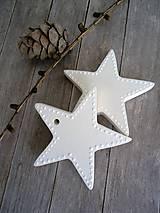 Hviezda vianočná - Étoiles de sucre